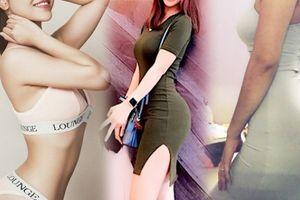 'Siêu vòng 3 Kiên Giang' chỉ cách mặc váy ôm không hằn nội y