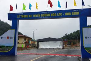 Chính thức thông xe đường nghìn tỷ, Hà Nội đi Hòa Bình chỉ còn 1 giờ