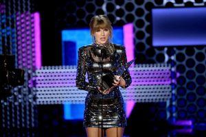 Taylor Swift được trao nhiều giải nhất trong lịch sử 'American Music Awards'