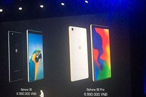 Bphone 3 ra mắt với giá thấp nhất 6,99 triệu đồng