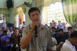 Đối thoại với người dân bãi rác Khánh Sơn: Bế tắc