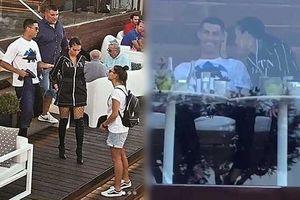 Ronaldo vui vẻ bên bạn gái Georgina giữa 'tâm bão' bị tố hiếp dâm