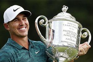 Brooks Koepka đoạt giải Golfer hay nhất năm của PGA Tour