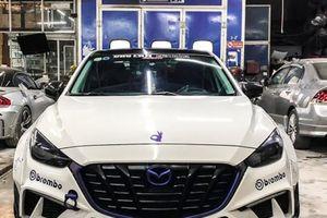 Qua tay PhiLong Autosport, Mazda 3 'siêu ngầu' với bản độ widebody kit Bunny