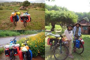 Chọn xuất phát giờ đẹp, cặp vợ chồng 9X quyết tâm đạp xe chinh phục 63 tỉnh thành khắp Việt Nam