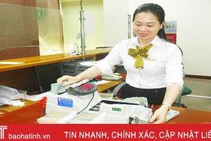 Doanh số cho vay của ngân hàng Hà Tĩnh đạt hơn 49.000 tỷ đồng