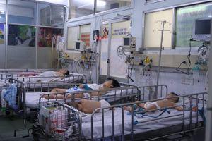Dịch chồng dịch, các bệnh viện TP Hồ Chí Minh quá tải