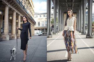 Hoa hậu Tiểu Vy gây 'dậy sóng' MXH với thần thái đầy sắc sảo và thu hút trong bộ ảnh chụp tại Pháp