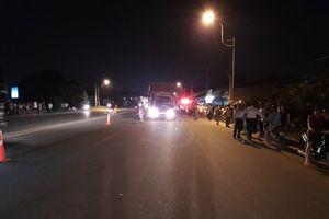 Bình Dương: Một người đàn ông đi bộ bị xe tải tông tử vong