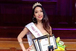 Lộ diện Hoa khôi Du học sinh Việt Nam tại Úc