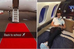 'Choáng' trước cuộc sống sang chảnh của con nhà giàu học trường tư