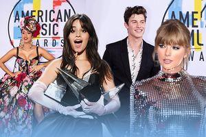 Toàn cảnh AMAs 2018: Taylor Swift về 'phe' Cardi B, Shawn Mendes đỏ mặt vì… 'chiếc-quần-phản-chủ'