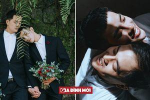 Bộ ảnh cưới tuyệt đẹp của cặp đồng tính nam tại Đà Lạt