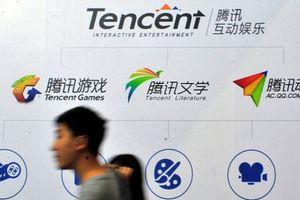 Giá trị vốn hóa sụt giảm kỷ lục, Tencent bị 'hất cẳng' khỏi top 10 danh giá