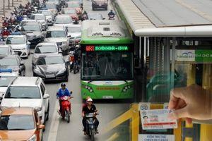 Hà Nội: Đưa vé điện tử vào thanh toán khi đi buýt nhanh BRT