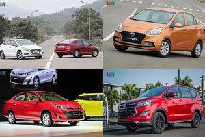 Top 10 mẫu xe bán chạy nhất thị trường Việt Nam tháng 9/2018