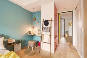 Căn hộ 63 m2 có một phòng ngủ ấm cúng