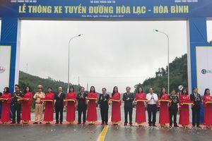 Chính thức thông xe tuyến đường Hòa Lạc - Hòa Bình và cầu Việt Trì - Ba Vì