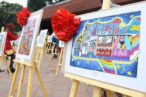 'Sải cánh vươn cao' 2018 - Cuộc thi vẽ tranh dành cho hàng nghìn học sinh tiểu học