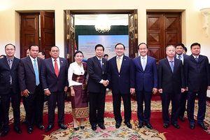 Thủ đô Hà Nội và Thủ đô Viêng Chăn mở rộng hợp tác trên nhiều lĩnh vực