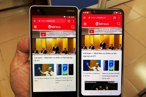 Ảnh thực tế bộ đôi Nokia 2.1 và 5.1 Plus tại Việt Nam