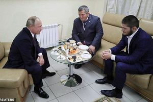 Tổng thống Putin gặp mặt Khabib sau chiến công ở UFC 229