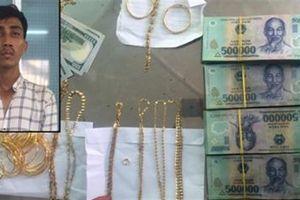 Trộm gần 90 cây vàng: Đi hơn 2.000km tiêu thụ