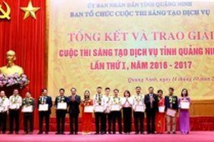 Trao 43 giải Sáng tạo dịch vụ tỉnh Quảng Ninh lần thứ I