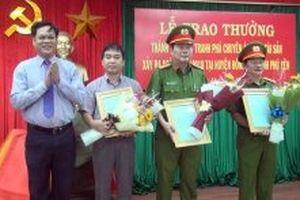 Họp báo về chuyên án cướp tài sản tại Phú Yên