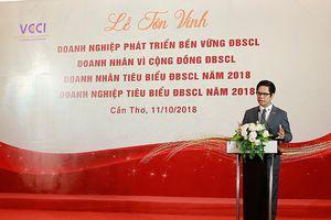 Vinh danh doanh nghiệp, doanh nhân tiêu biểu khu vực Đồng bằng sông Cửu Long