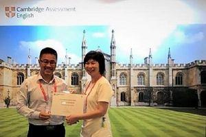 OEA Vietnam là 'Trung tâm Khảo thí Ủy quyền Xuất sắc' nhất khu vực ĐNÁ và Thái Bình Dương