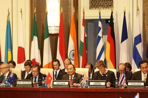 Châu Á và châu Âu: Quan hệ đối tác toàn cầu nhằm ứng phó với các thách thức toàn cầu