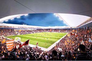 Phối cảnh đẹp long lanh của sân vận động Hàng Đẫy mới