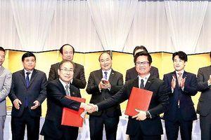Việt Nam- Nhật Bản ký kết hợp tác đầu tư gần 10 tỷ USD