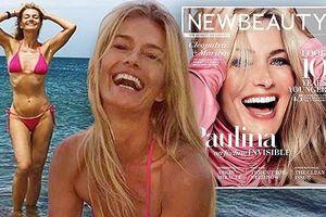 Mỹ nhân áo tắm Paulina Porizkova U60 trẻ trung xuân sắc