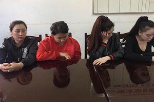 4 nghi phạm hành hung nhân viên spa bị tạm giữ