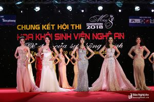 Nữ sinh viên Đại học Vinh giành danh hiệu Hoa khôi Sinh viên Nghệ An năm 2018