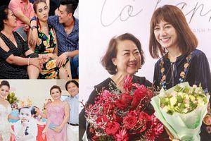 Sao nam Việt ở rể sướng như tiên, dàn người đẹp Vbiz sống với mẹ chồng thế nào?