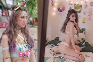 Chủ shop giày 9X ở Hà Nội mặt xinh như búp bê, thân hình sexy như người mẫu