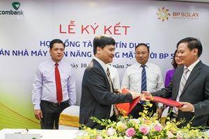 Vietcombank tài trợ 785 tỷ đồng cho dự án điện Mặt Trời BP SOLAR 1