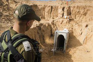 Israel phá hủy thêm một đường hầm của Hamas ở Dải Gaza
