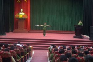 Hà Nội: Công an Thanh Xuân tập huấn phân luồng giao thông và sơ cứu ban đầu