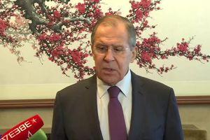 Ngoại trưởng Nga: 'Phiến quân đang rút khỏi Idlib, Syria'