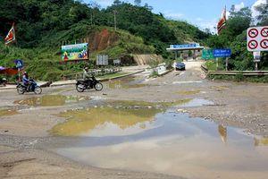 Lào Cai: Người dân khổ khi đi qua nút giao thông IC16 Nội Bào - Lào Cai