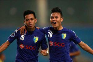 Quang Hải, Văn Quyết nhận giải 'Cầu thủ xuất sắc nhất V-League 2018'