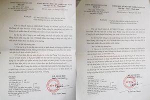 An nữ Thảo Khang và Vĩnh Hồng Xuân bị Sở Y tế thu hồi số tiếp nhận công bố