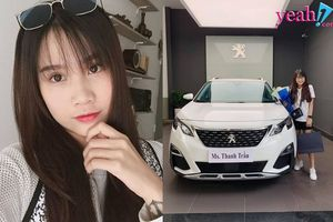 Vừa vượt mặt Sơn Tùng về lượt follow, Vlogger Thanh Trần tậu luôn xế hộp tiền tỷ