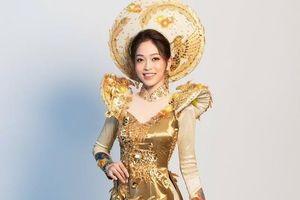 Hé lộ hình ảnh bộ quốc phục Phương Nga trình diễn tại Miss Grand International