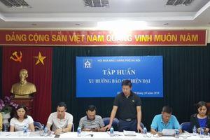 Chính thức khởi động giải thể thao hội khỏe Hội Nhà báo TP Hà Nội