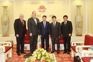 Thứ trưởng Bùi Văn Nam tiếp Trợ lý Ngoại trưởng Hoa Kỳ